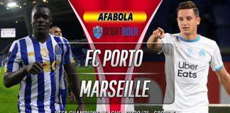 Prediksi Porto vs Marseille 4 November 2020