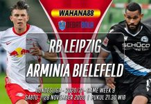 Prediksi RB Leipzig vs Arminia Bielefeld 28 November 2020