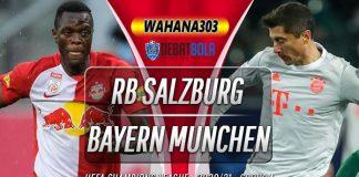 Prediksi RB Salzburg vs Bayern Munchen 4 November 2020