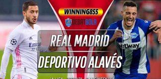Prediksi Real Madrid vs Deportivo Alavés 29 November 2020