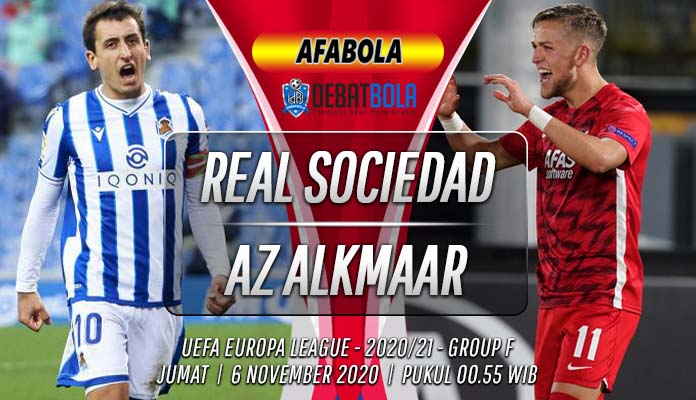 Prediksi Real Sociedad vs AZ Alkmaar 6 November 2020