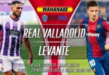 Prediksi Real Valladolid vs Levante 28 November 2020