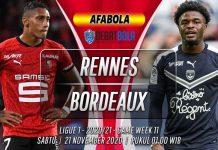 Prediksi Rennes vs Bordeaux 21 November 2020