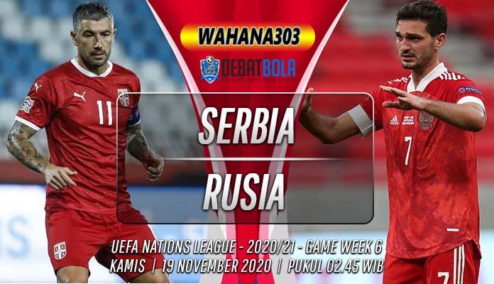 Prediksi Serbia vs Rusia 19 November 2020
