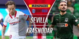 Prediksi Sevilla vs Krasnodar 5 November 2020