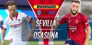 Prediksi Sevilla vs Osasuna 8 November 2020