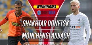 Prediksi Shakhtar Donetsk vs Monchengladbach 4 November 2020