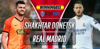 Prediksi Shakhtar Donetsk vs Real Madrid 2 Desember 2020