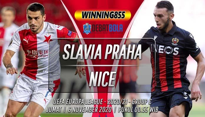 Prediksi Slavia Praha vs Nice 6 November 2020