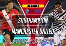 Prediksi Southampton vs Manchester United 29 November 2020