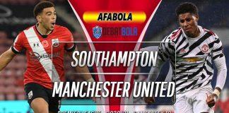 Prediksi Southampton vs Manchester United 29 November 2020