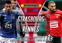 Prediksi Strasbourg vs Rennes 28 November 2020