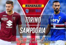Prediksi Torino vs Sampdoria 1 Desember 2020