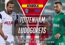 Prediksi Tottenham Hotspur vs Ludogorets 27 November 2020