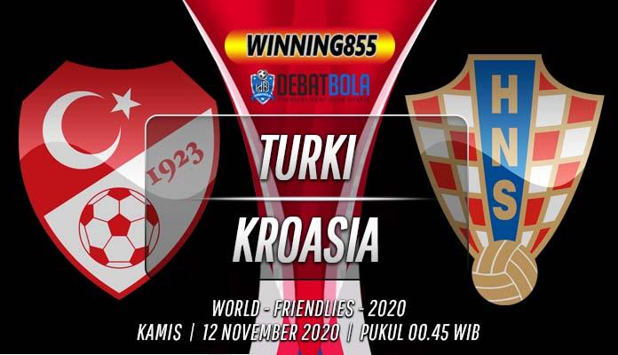 Prediksi Turki vs Kroasia 12 November 2020