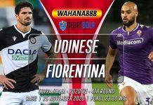 Prediksi Udinese vs Fiorentina 25 November 2020