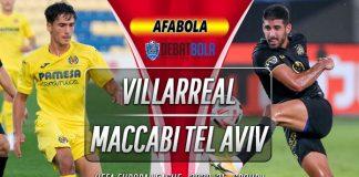 Prediksi Villarreal vs Maccabi Tel Aviv 6 November 2020