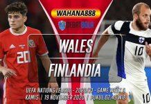 Prediksi Wales vs Finlandia 19 November 2020