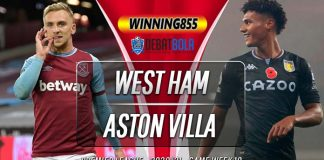 Prediksi West Ham vs Aston Villa 1 Desember 2020