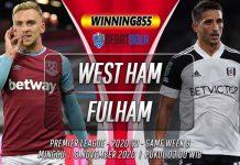 Prediksi West Ham vs Fulham 8 November 2020