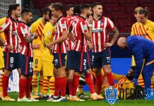 Rapuhnya Barcelona Saat Dikalahkan Atletico Madrid