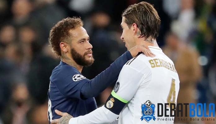Rayuan Neymar Kepada Sergio Ramos
