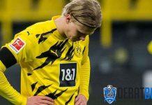 Borussia Dortmund Kehilangan Erling Haaland Hingga Awal Tahun