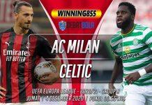 Prediksi AC Milan vs Celtic 4 Desember 2020
