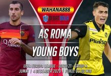 Prediksi AS Roma vs Young Boys 4 Desember 2020
