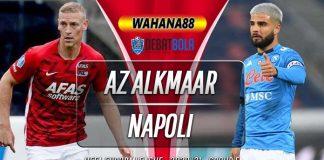 Prediksi AZ Alkmaar vs Napoli 4 Desember 2020