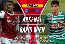 Prediksi Arsenal vs Rapid Wien 4 Desember 2020