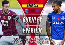 Prediksi Burnley vs Everton 5 Desember 2020