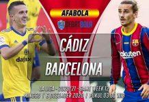 Prediksi Cádiz vs Barcelona 6 Desember 2020