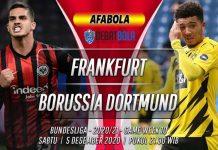 Prediksi Frankfurt vs Borussia Dortmund 5 Desember 2020