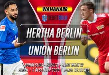 Prediksi Hertha Berlin vs Union Berlin 5 Desember 2020