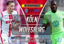 Prediksi Köln vs Wolfsburg 5 Desember 2020