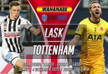 Prediksi LASK vs Tottenham Hotspur 4 Desember 2020