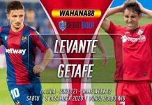 Prediksi Levante vs Getafe 5 Desember 2020