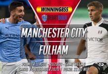 Prediksi Manchester City vs Fulham 5 Desember 2020