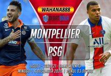 Prediksi Montpellier vs PSG 6 Desember 2020