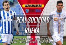 Prediksi Real Sociedad vs Rijeka 4 Desember 2020
