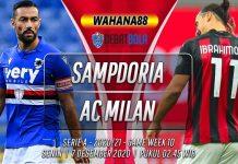 Prediksi Sampdoria vs AC Milan 7 Desember 2020
