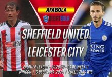 Prediksi Sheffield United vs Leicester City 6 Desember 2020