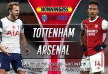 Prediksi Tottenham Hotspur vs Arsenal 6 Desember 2020