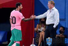 Ronald Koeman Enggan Komentari Lagi Masa Depan Lionel Messi